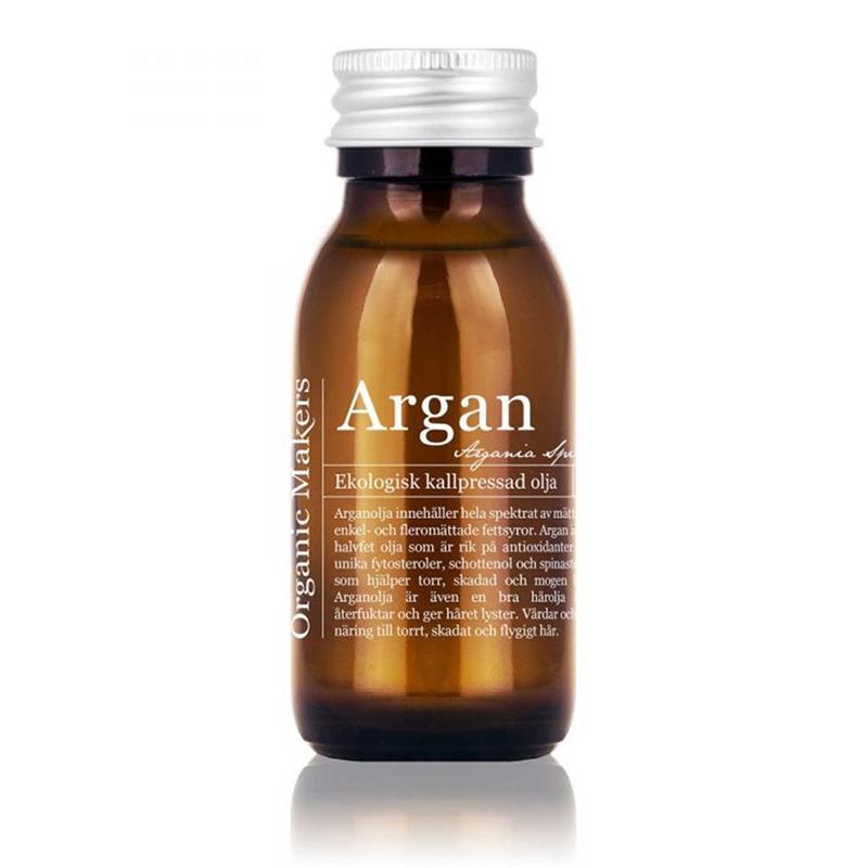 hårolja med arganolja