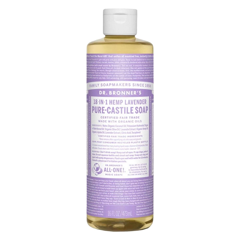 Lavender PureCastile Liquid Soap, 475 ml Eko